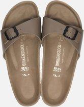Birkenstock Madrid Dames Slippers - Taupe