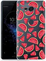 Xperia XZ2 Compact Hoesje Watermeloen