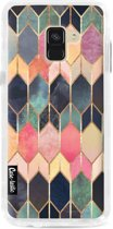 Casetastic Hard Case Samsung Galaxy A8 (2018) - Stained Glass Multi