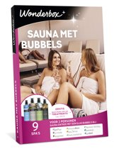 Wonderbox Cadeaubon - Sauna met Bubbels