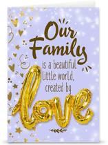 """Love ballon """"Our family"""""""