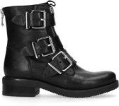Sacha - Dames - Biker boots met gespen en ritsen - Maat 40