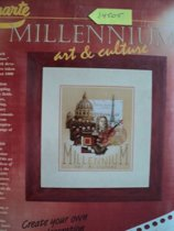 Borduurpakket Millenium art & culture