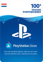 100 euro PlayStation Store tegoed - PSN Playstation Network Kaart (NL)