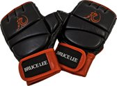 Bruce Lee Dragon Free Fight / MMA Handschoenen - Leer - XL