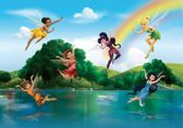 Dutch Wallcoverings Fotobehang Disney Fairies With Rainbow,  4-d