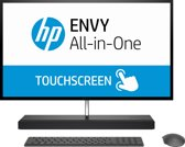 HP ENVY 27-b111nb 2.9GHz i7-7700T 27'' 3840 x 2160Pixels Touchscreen Zilver Alles-in-één-pc