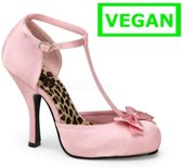 Cutiepie-12 baby pink satin - (EU 40 = US 10) - Pin Up Couture