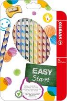 STABILO EASYcolors Linkshandige Kleurpotloden - 12 Stuks