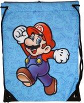 Nintendo - Gym Bag - Mario (Blue)