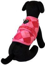 Hondenjas avant garde preppy roze 20-25 cm