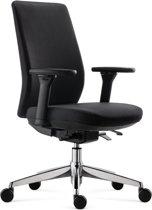 BenS 918Cr Synchro 4 bureaustoel – Arbo stoffen bekleding – Ergonomisch – Zwart