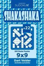 Sudoku Shakashaka - 200 Master Puzzles 9x9 (Volume 22)