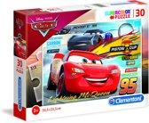 Clementoni Puzzel Supercolor Puzzle Cars 30 Stukjes