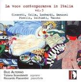La Voce Contemporanea In Italia - Vol.3