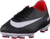 Nike Mercurial Victory VI FG  Voetbalschoenen - Maat 36 - Unisex - zwart/wit