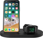 Belkin BOOST UP draadloze oplader oplaadstation voor iPhone & Apple Watch, met USB-A-poort 2.4A - Zwart