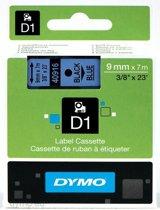 DYMO S0720710 labelprinter-tape Zwart op blauw