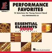 Performance Favorites, Vol.1 Full Performance CD