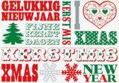 Enkele Kerstkaarten - Ansichtkaart 6 - 10 stuks