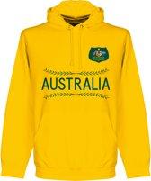 Australië Team Hooded Sweater - Goud - L