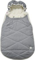 Lodger voetenzak maxi-cosi Mini Bunker Fleece grijs