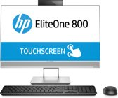 HP EliteOne 800 G4 60,5 cm (23.8'') 1920 x 1080 Pixels Touchscreen 3 GHz Intel® 8ste generatie Core™ i5 i5-8500 Zilver Alles-in-één-pc