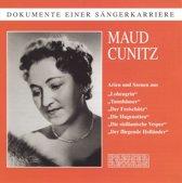 Dokumente einer Sangerkarriere: Maud Cunitz