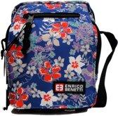 Enrico Benetti Little Daisies Bloemetjes schoudertasje heel handig met veel vakjes ! Trendy tas !