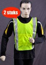 Safeways EN471 Kl1 HiViz Veiligheidshesje - Reflectie - 2stuks