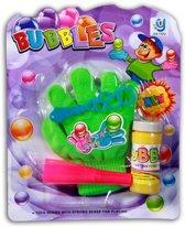 Bouncing bubbles + handschoen