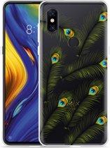 Xiaomi Mi Mix 3 Hoesje Peacock Feathers