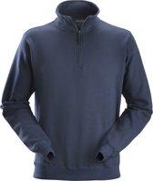 Snickers ½ Zip sweatshirt - Workwear - 2818 - donkerblauw - maat M