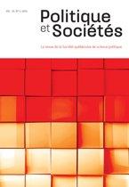 Politique et Sociétés. Vol. 33 No. 2, 2014