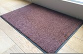 Ecologische droogloopmat roestbruin - 58 x 118 cm