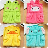 Kleine Handdoeken Dieren - Schattige Handdoekjes - Geschikt voor Kids & Kinderen - 5 Stuks