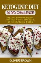 Omslag van 'Ketogenic Diet - 30 DAY Challenge'