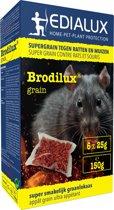 Brodilux Grain 150gr - muizengif / rattengif - tegen ratten en muizen