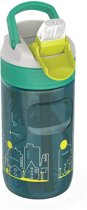 Kambukka Lagoon Kids Waterfles - 400 ML - Urban Dino - Spout lid