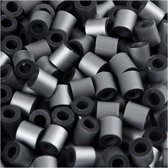 Creativ Company 751340 Tube bead Zilver 1100stuk(s) kabelbeschermer