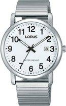 Lorus RG859CX9 horloge heren - zilver - edelstaal