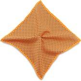 We Love Ties Pochet Tiny Flower oranje