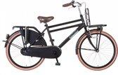 Popal Daily Dutch 2488 - Transportfiets - 24 Inch - Matt Zwart