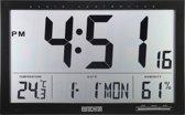Digitale DCF kalender wandklok Eurochron EFWU Jumbo 100