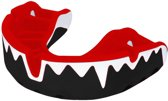 OPRO Self-Fit Mouthguard Platinum Series - Red Fangz