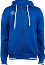 Indian Maharadja Heren Tech Hooded Sweater - Sweaters  - blauw kobalt - S