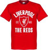 Liverpool Established T-Shirt - Rood - XL