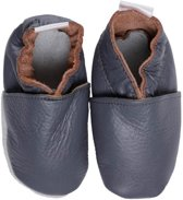 BabySteps slofjes Plain Anthracite medium