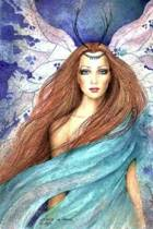 Water Faery by Esther M. Smith Art of Life Journal (Blank / Lined)