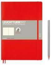 Leuchtturm1917 Notitieboek Composition B5 - Softcover - Blanco - Rood